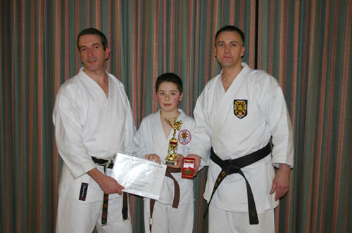 Tyler, his instructors and his award