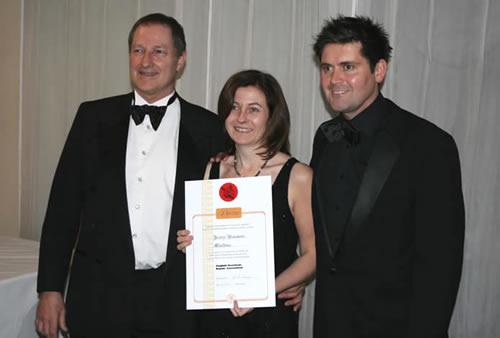 Xmas ball with Jenny, Mike Nursey & Nick Lower